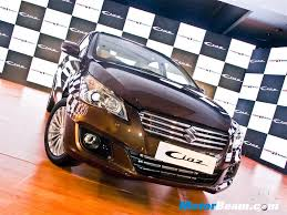 new car launches october 2014 indiaMaruti Ciaz Launched In India Priced From Rs 699 Lakhs