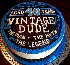 Original Birthday Cake Ideas Mds 35 For Husband 40th Birthday Cake