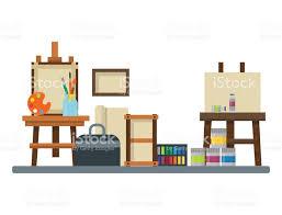 creative furniture icons set flat design. perfect creative furniture icons set flat design tools palette icon vector illustration details stationery o
