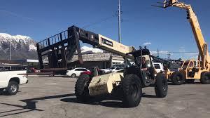 Ingersol Rand Forklift Sold Telehandler Forklift 2000 Ingersoll Rand Vr843 4x4x4 Cummins