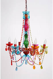 chandelier pink gypsy chandeliers favored silly lamp small clear multicolored candelabra multi archived on lighting