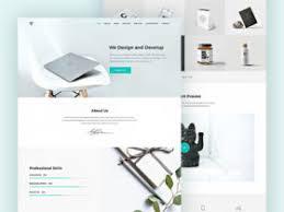 Free Psd Website Design Templates Freebiesbug