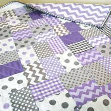 Shop Gray Chevron Quilt on Wanelo & SALE - Lavender and Gray Patchwork Baby Crib Quilt Bedding Blanket Lavender  Gray Chevron Dot Gingham Adamdwight.com