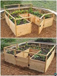 diy cedar raised garden bed kit 20 diy