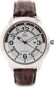 buy and compare q q a148j304y analog watch for men online lowest q q a148j304y analog watch for men