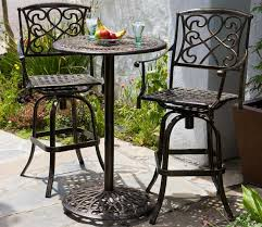 bistro patio table and chairs stylish garden furniture bistro set inside modern aluminum bistro chairs