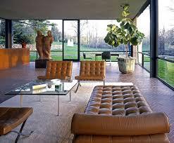 glass house interior design. glass house by philip johnson   designrulz interior design e