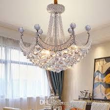 led modern crystal chandeliers american k9 crystal chandelier lights fixture gold silver hall foyer bed living room home indoor lighting tree branch