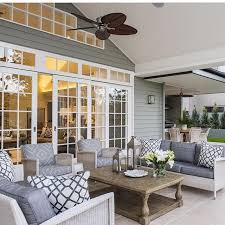 Highgate House Queensland Hamptons Style Home Outdoor Space