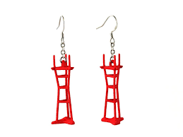 Sutro Tower Coat Rack Sutro Tower Earrings Free For Mind 68