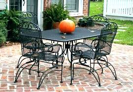 plantation patterns wrought iron furniture medium size