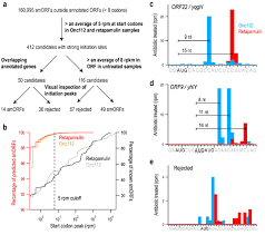Identifying Small Proteins By Ribosome Profiling With