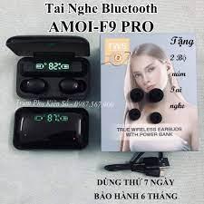 Tai Nghe Bluetooth Amoi F9 Pro Max Quốc Tế - Tiếng anh - BLT 5.0 giá rẻ  349.000₫