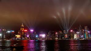What Time Is The Light Show In Hong Kong Hong Kong Dazzles With Light And Special Effect Shows