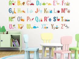 alphabet wall stickers john lewis art
