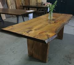 Redwood Slab Dining Table Live Wood Coffee Table Sold Superb Live Edge Black Walnut Live
