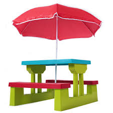 Childrenu0027s Picnic Table  TargetChildrens Outdoor Furniture With Umbrella