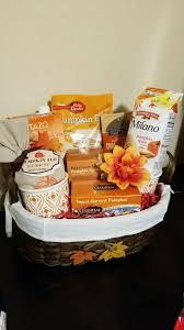 pumpkin fall themed gift basket silent auction fundraiser for work 2016