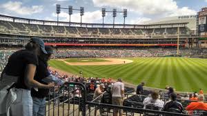 Detroit Tigers Comerica Park Seating Chart Interactive Map