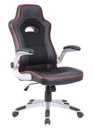black desk chair. Black With Red Trim Racing Office Chair Desk S