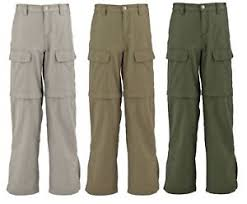 Details About White Sierra X9711y Youth Boys Girls Jr Trail Convertible Hiking Travel Pant