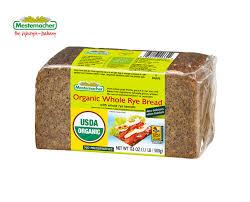 Organic Whole Rye Bread Mestemacher