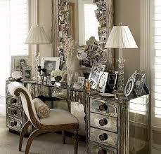 bedroom with mirrored furniture. Venetian Mirrored Furniture Pulaski Bedroom With