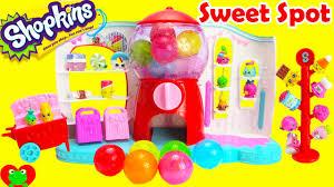 kins season 4 sweet spot gumball machine playset toy genie surprises