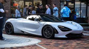 Pearl White Mclaren 720s At Local Car Meetup Also This Is My First Post On Reddit Hope You All Enjoy Car Dream Cars Lexus Expensive Sports Cars Mclaren