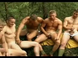 Men group masturbation videos