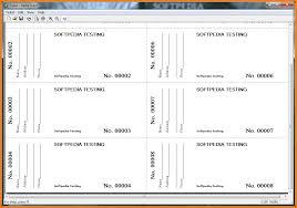5 printable raffle tickets receipt templates printing raffle tickets tab