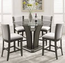 ideal counter height glass dining table latest counter height dining table tags amazing glass dining