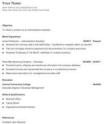 Resume Sample Sample Example Resume Resume Templates