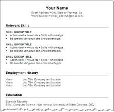 How To Do Resumes For A Job – Directory Resume Sample