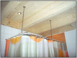 l shaped shower curtain rod canada