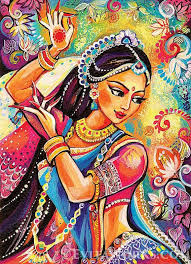 indian painting r woman by evitaworks indian paintings