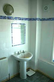 Fascinating Tile Borders For Bathrooms 05 Black And White Bathroom