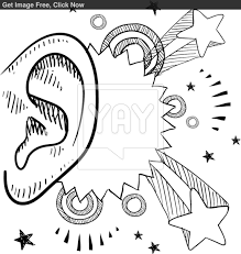 Small Picture Ear Coloring Page Printable 44420 In glumme