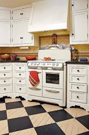 Checkerboard Kitchen Floor The Best Flooring Choices For Old House Kitchens Old House