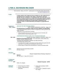 Resumes For Nurses Template Stunning Nurse Resume Template Nursing CV Examples Sample Registered 48 For Rn