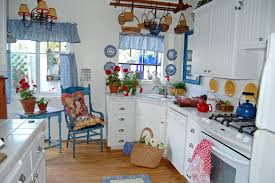 Country Decor For Kitchen Modern Concept Blue Country Kitchen French Country Style English
