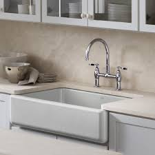 kohler whitehaven self t a front single basin sink with tall a white