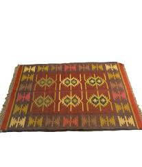 hand woven rugs from india indian rug multicolour traditional wool jute hand woven rug hand woven