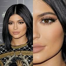 kingkyliebeauty make up by hrush achemyan hair by michael silva favorite lipstick kylie jenner