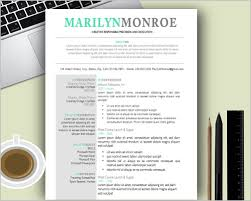 Innovative Ideas Free Creative Resume Templates For Mac Free
