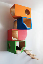wall mounted cat furniture. Catissa Wall Mounted Cat House - At CatsPlay.com Furniture E
