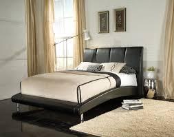 standard moderno upholstered platform bed