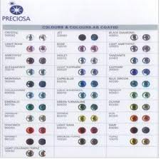 Preciosa Color Chart Sweetrhinestoneindustrial Traderscity