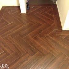 herringbone tile floor diyshowoff