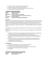 4 - People Soft Consultant Resume